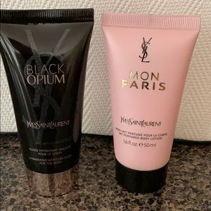 YvesSaintLauren body lotion